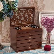 Buy <b>Six</b>-<b>layer</b> Jewelry Box <b>European</b> Style High Quality Storage Box ...