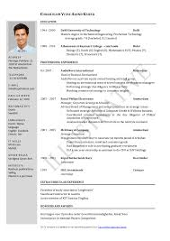resume format for iti director resignation letter resume format resume ideas 217742 cilook us