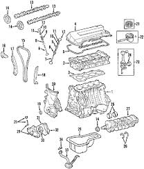 toyota corolla engine cylinder block components  s diagram    toyota corolla engine cylinder block components  s diagram