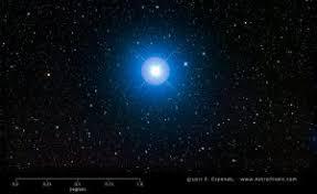 Rigel in Orion is <b>blue</b>-white | Brightest <b>Stars</b> | EarthSky