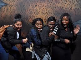 check out these hilariously candid haunted house reactions check haunted house