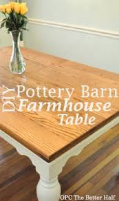 pottery barn style dining table: pottery barn knock off dining table opc the better half