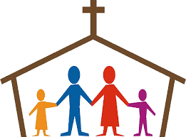 Image result for family with bible clip art