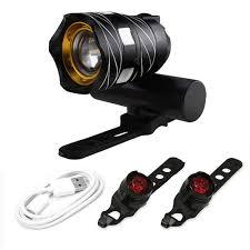 <b>Nb set-2 MTB LED</b> Light Super Bright Front And Rear Light Set ...