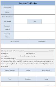 verification of employment template info update 38554 employment verification forms template 38