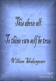 Famous quote by William Shakespeare done in a classic Black Adder ... via Relatably.com