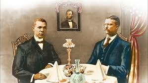 Teddy Roosevelt's 'Shocking' Dinner With Washington : NPR