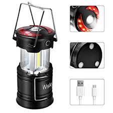 Wsky Led <b>Camping</b> Lantern - Best <b>Rechargeable</b> LED <b>Flashlight</b>