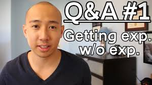 q a how to get a job no experience