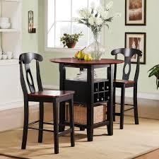 three piece dining set:  piece kitchen table sets coaster furniture davina collection krasavic  piece kitchen dining