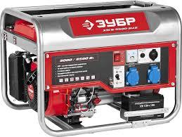 <b>Бензиновый генератор Зубр</b> 220/12В, 3000/3500Вт <b>ЗЭСБ</b>-<b>3500</b> ...