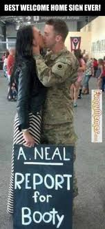 FunnyMemes.com • Funny memes - [Best welcome home sign] via Relatably.com