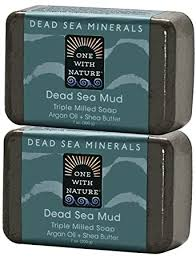 One With Nature Dead Sea Salt Mud Argan Oil and ... - Amazon.com