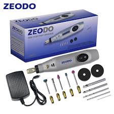 <b>Zeodo</b> ZD6000 <b>Mini DIY Electric</b> grinder Drill Grinding Set Power ...