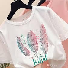 Fashion Short Sleeve TShirt <b>Wings</b> Feather <b>Surreal Artwork</b> Printed ...