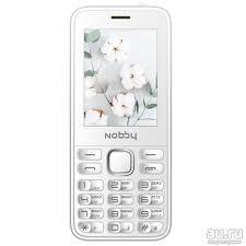 Мобильный <b>телефон Nobby 221</b> белый — купить в Красноярске ...