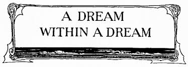 Image result for dream within a dream poem