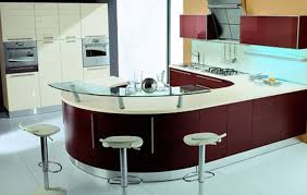 modern kitchen setup:
