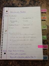 a writing page students can take notes in their writer s notebook famu online