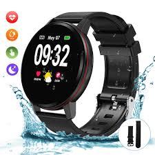 Bluetooth <b>Smart Watch</b>, Fitness Watch IP68 <b>Waterproof Smartwatch</b> ...