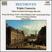 <b>BEETHOVEN</b>, L. van: <b>Triple Concerto</b> / Piano Concerto, Op. 61a ...