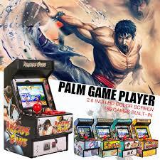 <b>Mini arcade handheld game</b> console classic retro game console 16 ...