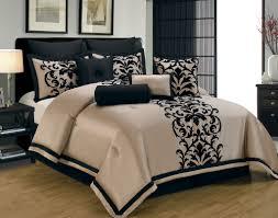 contemporary comforters ideas  home decor inspirations  black