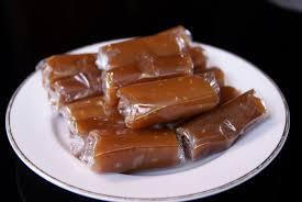 Image result for jenang coklat di wadah