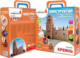<b>Конструктор</b> из кирпичиков <b>BRICKMASTER Кремль</b> (<b>136</b> деталей)