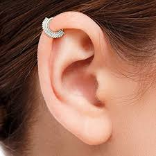 Cartilage Earring: Indian Style 925 Sterling Silver ... - Amazon.com