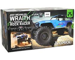 Jeep Rock Crawler Wraith Quotjeep Wrangler Poison Spyderquot Rtr 4wd Electric Rock Crawler