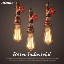 Retro Industrial Iron Vintage Pendant Light Dining Table Light ...