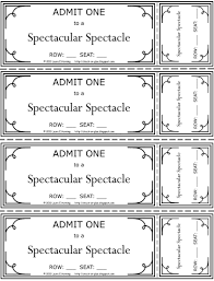 doc 500386 tickets printable printable admit one ticket printable tickets template printable admit one ticket tickets printable