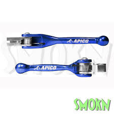 Apico Flexi <b>Pivot Brake</b> & <b>Clutch</b> Levers Sherco SE-R 250 300 16-20 ...