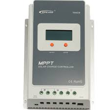 <b>epever</b> tracer <b>mppt</b> 12/24v lcd display <b>solar charge</b> controller battery ...