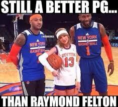 "NBA Memes on Twitter: ""The New York Knicks' PG Upgrade ... via Relatably.com"