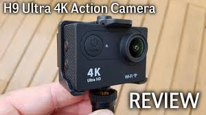 H9 <b>Ultra</b> 4K <b>WiFi Action Camera</b> REVIEW - Sample Videos included ...