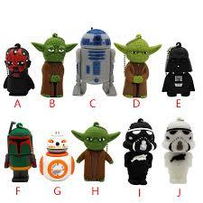 wars star Yoda Darth Vader pendrive 4G 8G 16G <b>32G 64G Usb</b> 2.0 ...