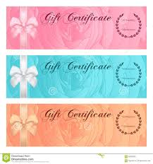 voucher gift certificate coupon template rose royalty gift certificate voucher coupon reward or gift card template floral rose pattern