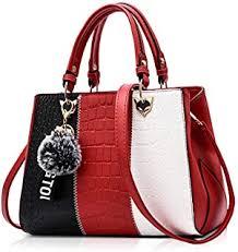 Red - Top-Handle Bags / Women's Handbags ... - Amazon.co.uk