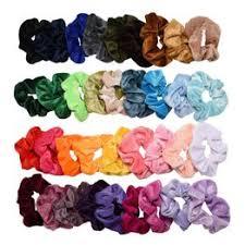 36 Pcs Hair Scrunchies Velvet Elastic Hair Bands Hair Ties ... - Vova