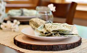 DIY Rustic <b>Wooden</b> Plate <b>Chargers</b> - Mom Unleashed