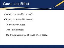 read the following cause essay topics examples cause essay topics write a good cause and effect essay by using free writing tips