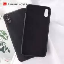 Amorus Phone Case for Huawei nova 4 <b>Soft Liquid Silicone Mobile</b> ...
