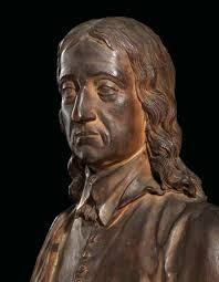 a terracotta bust of john milton attributed to peter scheemakers a terracotta bust of john milt