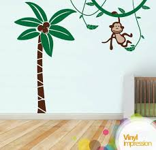 palm tree wall stickers: