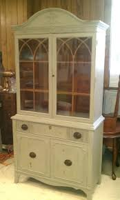 ideas china hutch decor pinterest: vintage china cabinet hand painted in french linen