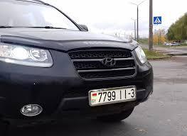 <b>Решётка радиатора</b>. Ч. 2. — Hyundai <b>Santa</b> Fe, 2.7 л., 2008 года ...