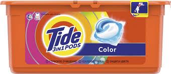 """<b>Капсулы</b> для <b>стирки Tide</b> """"<b>Color</b>"""", 30 шт"""