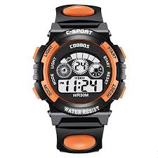Gruncourt Multi Function Wrist Watch <b>Colorful</b> Light <b>Waterproof</b> ...